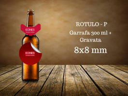 Rotulo P - 330 Ml + Gravata  8x8 mm